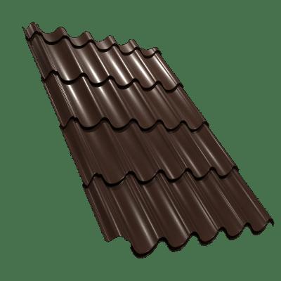 Tigla metalica lindab nordic 400 grosime 0.53mm